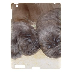 Neapolitan Pups Apple Ipad 3/4 Hardshell Case
