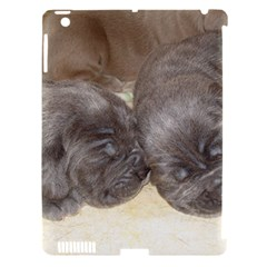 Neapolitan Pups Apple Ipad 3/4 Hardshell Case (compatible With Smart Cover)
