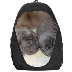 Neapolitan Pups Backpack Bag