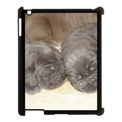 Neapolitan Pups Apple Ipad 3/4 Case (black)