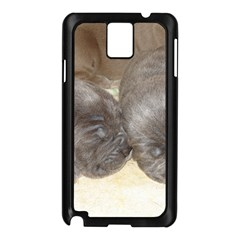Neapolitan Pups Samsung Galaxy Note 3 N9005 Case (black)