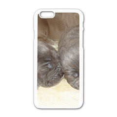 Neapolitan Pups Apple Iphone 6/6s White Enamel Case