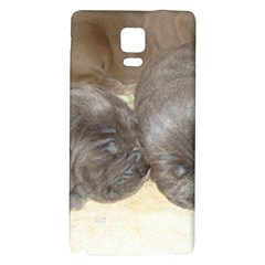 Neapolitan Pups Galaxy Note 4 Back Case