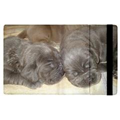 Neapolitan Pups Apple Ipad Pro 12 9   Flip Case