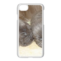 Neapolitan Pups Apple Iphone 7 Seamless Case (white)