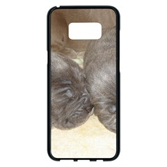 Neapolitan Pups Samsung Galaxy S8 Plus Black Seamless Case