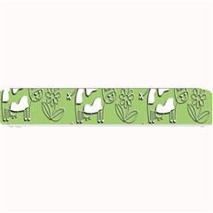 Cow Flower Pattern Wallpaper Small Bar Mats