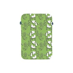 Cow Flower Pattern Wallpaper Apple Ipad Mini Protective Soft Cases
