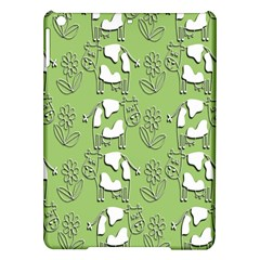 Cow Flower Pattern Wallpaper Ipad Air Hardshell Cases