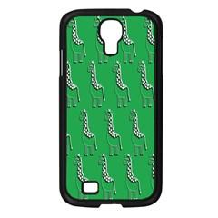 Giraffe Pattern Wallpaper Vector Samsung Galaxy S4 I9500/ I9505 Case (black)