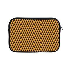 Chevron Brown Retro Vintage Apple Ipad Mini Zipper Cases
