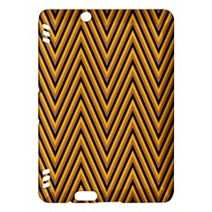 Chevron Brown Retro Vintage Kindle Fire Hdx Hardshell Case