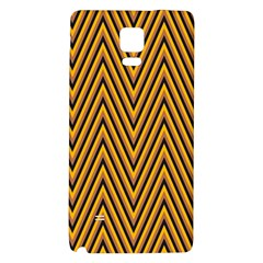 Chevron Brown Retro Vintage Galaxy Note 4 Back Case