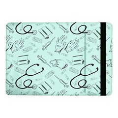 Pattern Medicine Seamless Medical Samsung Galaxy Tab Pro 10 1  Flip Case