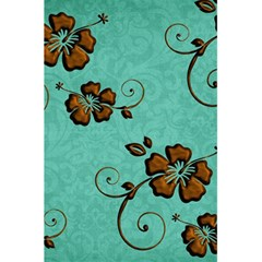 Chocolate Background Floral Pattern 5 5  X 8 5  Notebooks