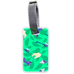 Pattern Seamless Background Desktop Luggage Tags (two Sides)