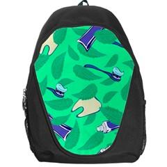 Pattern Seamless Background Desktop Backpack Bag