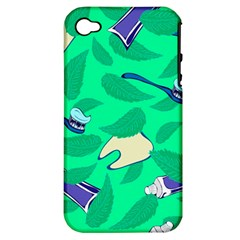 Pattern Seamless Background Desktop Apple Iphone 4/4s Hardshell Case (pc+silicone)