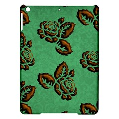 Chocolate Background Floral Pattern Ipad Air Hardshell Cases