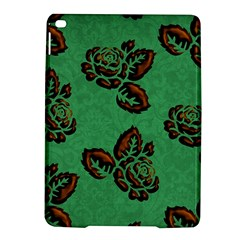 Chocolate Background Floral Pattern Ipad Air 2 Hardshell Cases