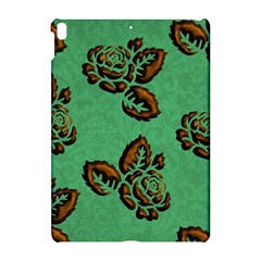 Chocolate Background Floral Pattern Apple Ipad Pro 10 5   Hardshell Case