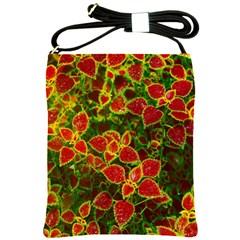 Flower Red Nature Garden Natural Shoulder Sling Bags
