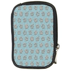 Texture Background Beige Grey Blue Compact Camera Cases
