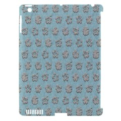 Texture Background Beige Grey Blue Apple Ipad 3/4 Hardshell Case (compatible With Smart Cover)