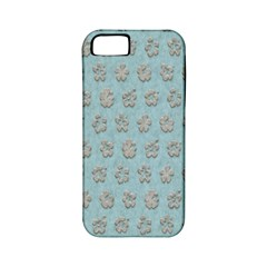 Texture Background Beige Grey Blue Apple Iphone 5 Classic Hardshell Case (pc+silicone)