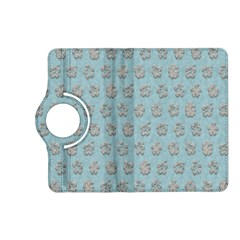Texture Background Beige Grey Blue Kindle Fire Hd (2013) Flip 360 Case