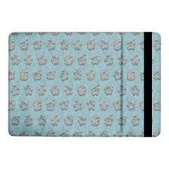 Texture Background Beige Grey Blue Samsung Galaxy Tab Pro 10 1  Flip Case