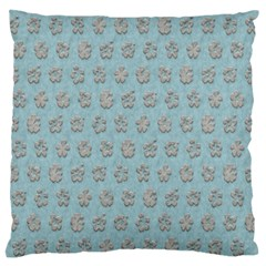 Texture Background Beige Grey Blue Standard Flano Cushion Case (one Side)