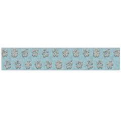 Texture Background Beige Grey Blue Flano Scarf (large)