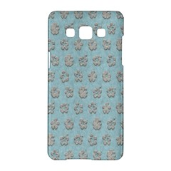 Texture Background Beige Grey Blue Samsung Galaxy A5 Hardshell Case