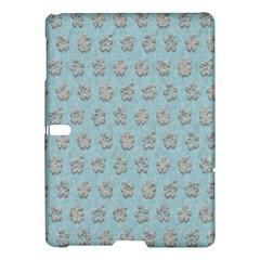 Texture Background Beige Grey Blue Samsung Galaxy Tab S (10 5 ) Hardshell Case