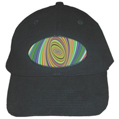 Ellipse Background Elliptical Black Cap