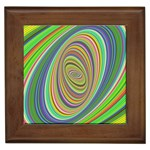 Ellipse Background Elliptical Framed Tiles Front