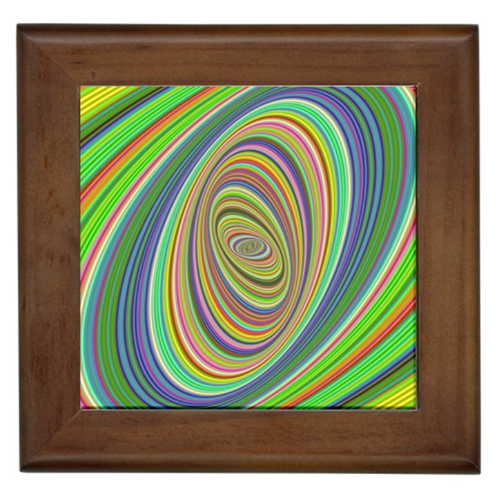 Ellipse Background Elliptical Framed Tiles