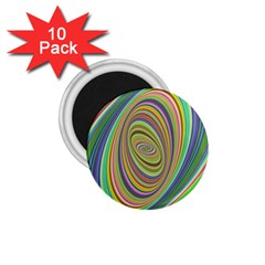 Ellipse Background Elliptical 1 75  Magnets (10 Pack)