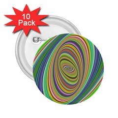 Ellipse Background Elliptical 2 25  Buttons (10 Pack)