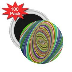 Ellipse Background Elliptical 2 25  Magnets (100 Pack)