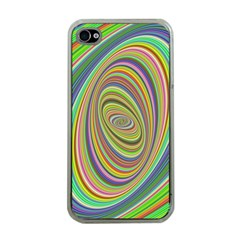 Ellipse Background Elliptical Apple Iphone 4 Case (clear)