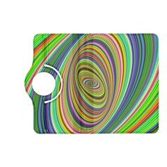 Ellipse Background Elliptical Kindle Fire Hd (2013) Flip 360 Case