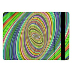 Ellipse Background Elliptical Samsung Galaxy Tab Pro 12 2  Flip Case