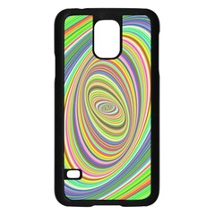 Ellipse Background Elliptical Samsung Galaxy S5 Case (black)