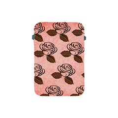 Chocolate Background Floral Pattern Apple Ipad Mini Protective Soft Cases