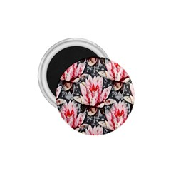 Water Lily Background Pattern 1 75  Magnets