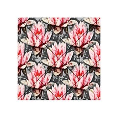 Water Lily Background Pattern Acrylic Tangram Puzzle (4  X 4 )