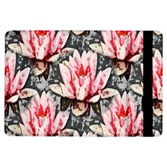Water Lily Background Pattern Ipad Air Flip