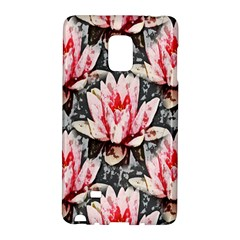 Water Lily Background Pattern Galaxy Note Edge